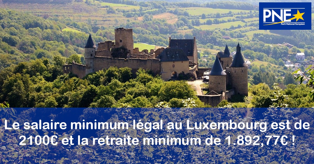 Photo article - Le salaire minimum dépasse les 2.100€ au Luxembourg !